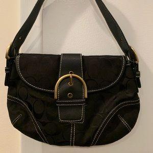 Coach Black Mini Shoulder Bag